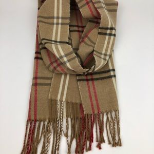 Cejon Plaid Scarf Made in Italy
